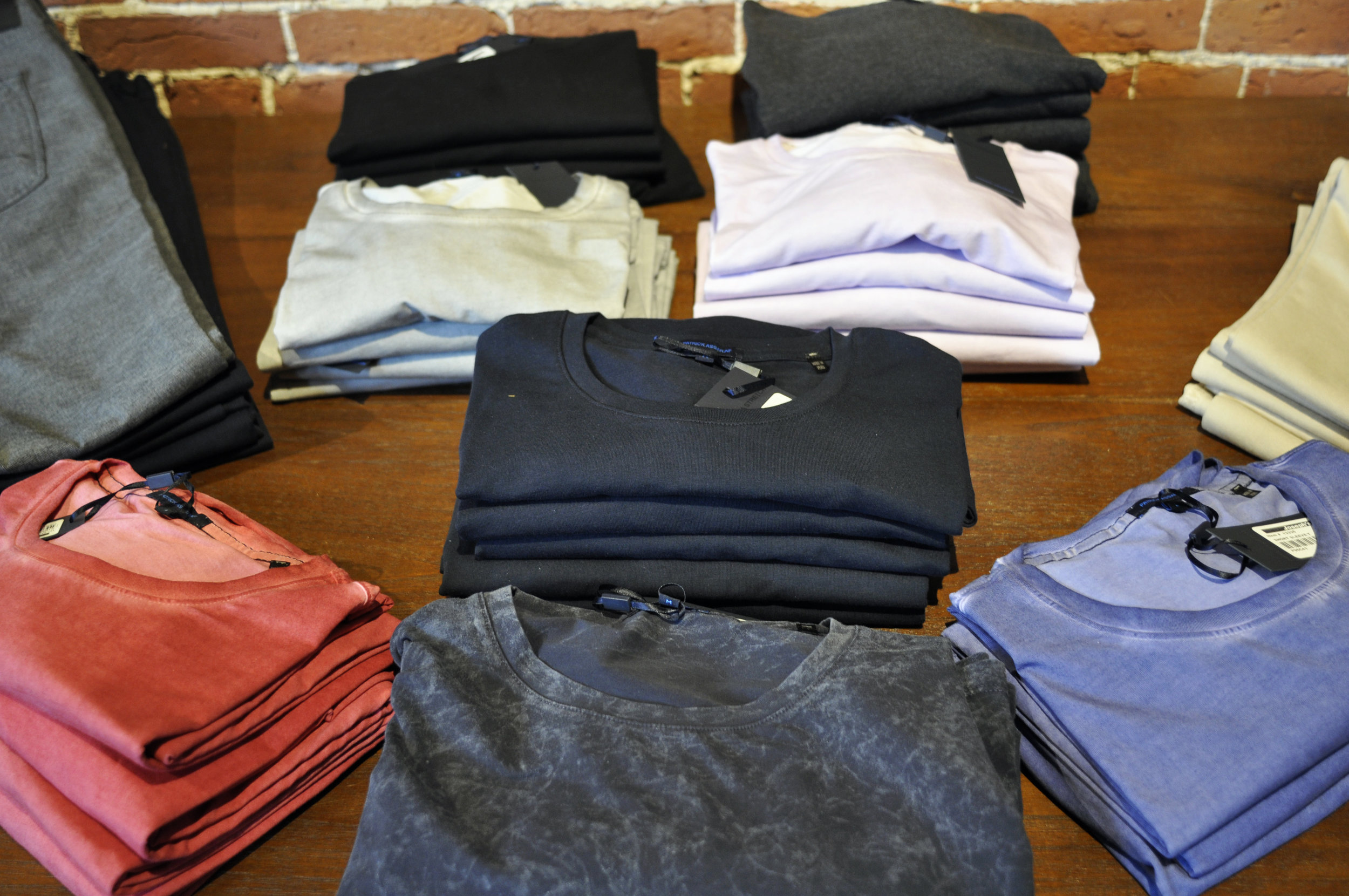 No need to overthink things. If you're looking for the perfect pair of socks, a great tee, or even a new white dress shirt, we've got you covered with great options from brands like  Dapper Classics ,  Patrick Assaraf , and  Eton . If you're looking for some options for easy wardrobe updates, look no further!