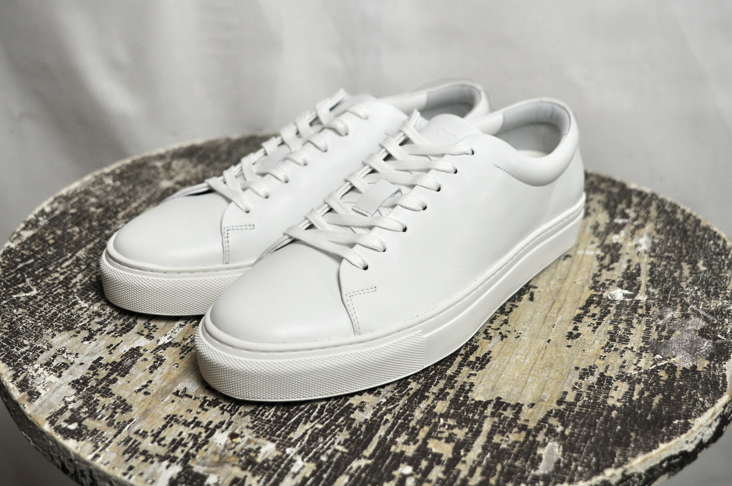 The  Glider Cupsole Sneaker in White
