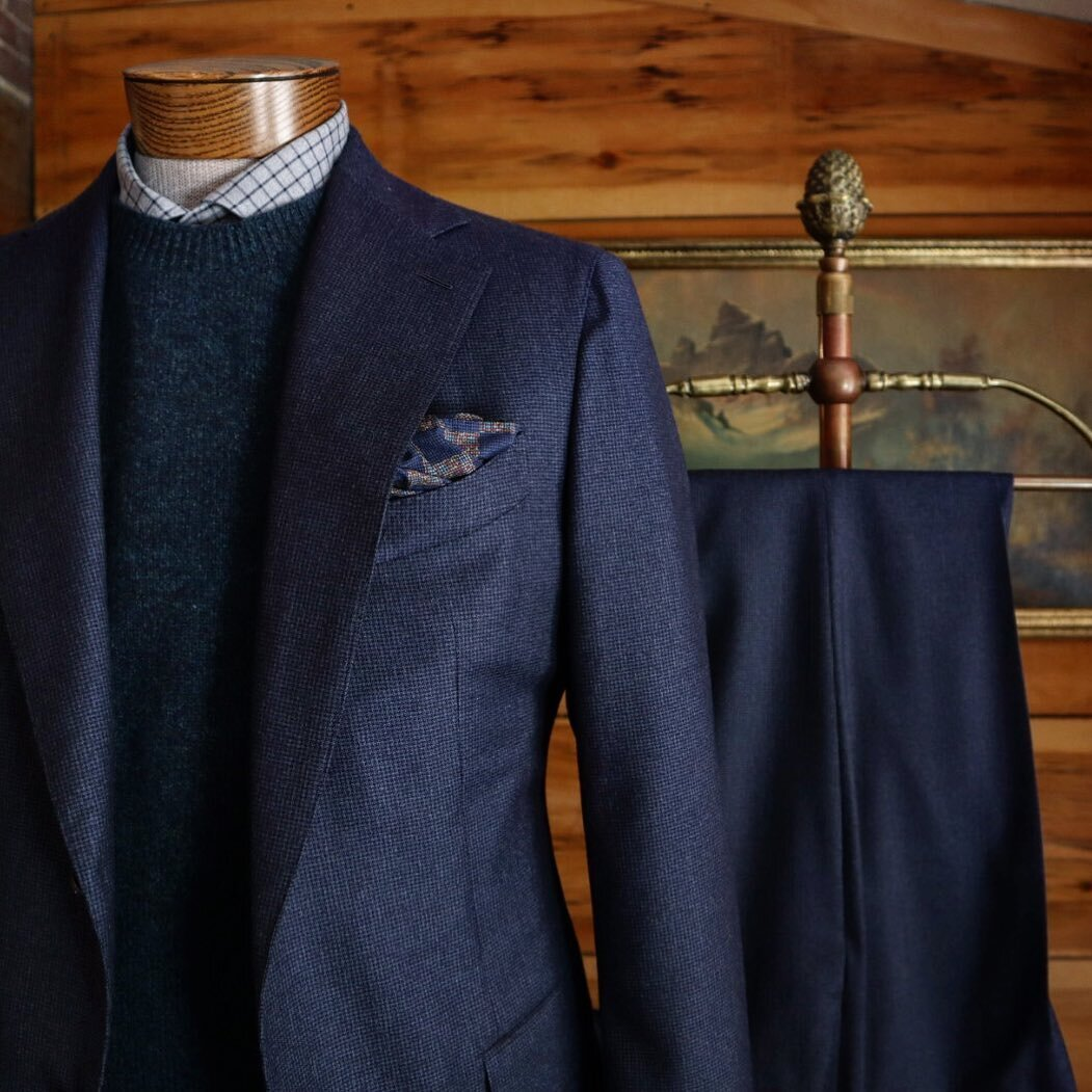 Dressed up or down, a Carsuo suit is sure to make an impression