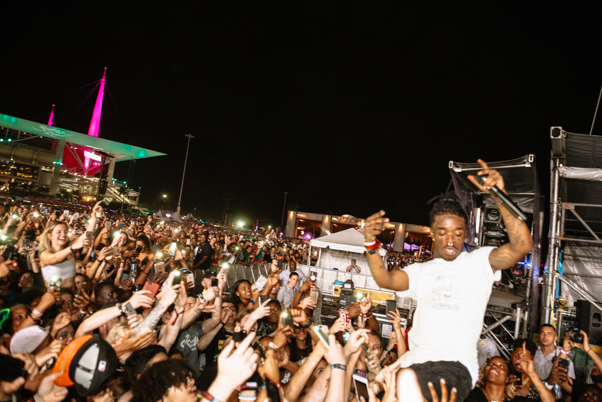 Aaron Ricketts - Rolling Loud - Lil Uzi