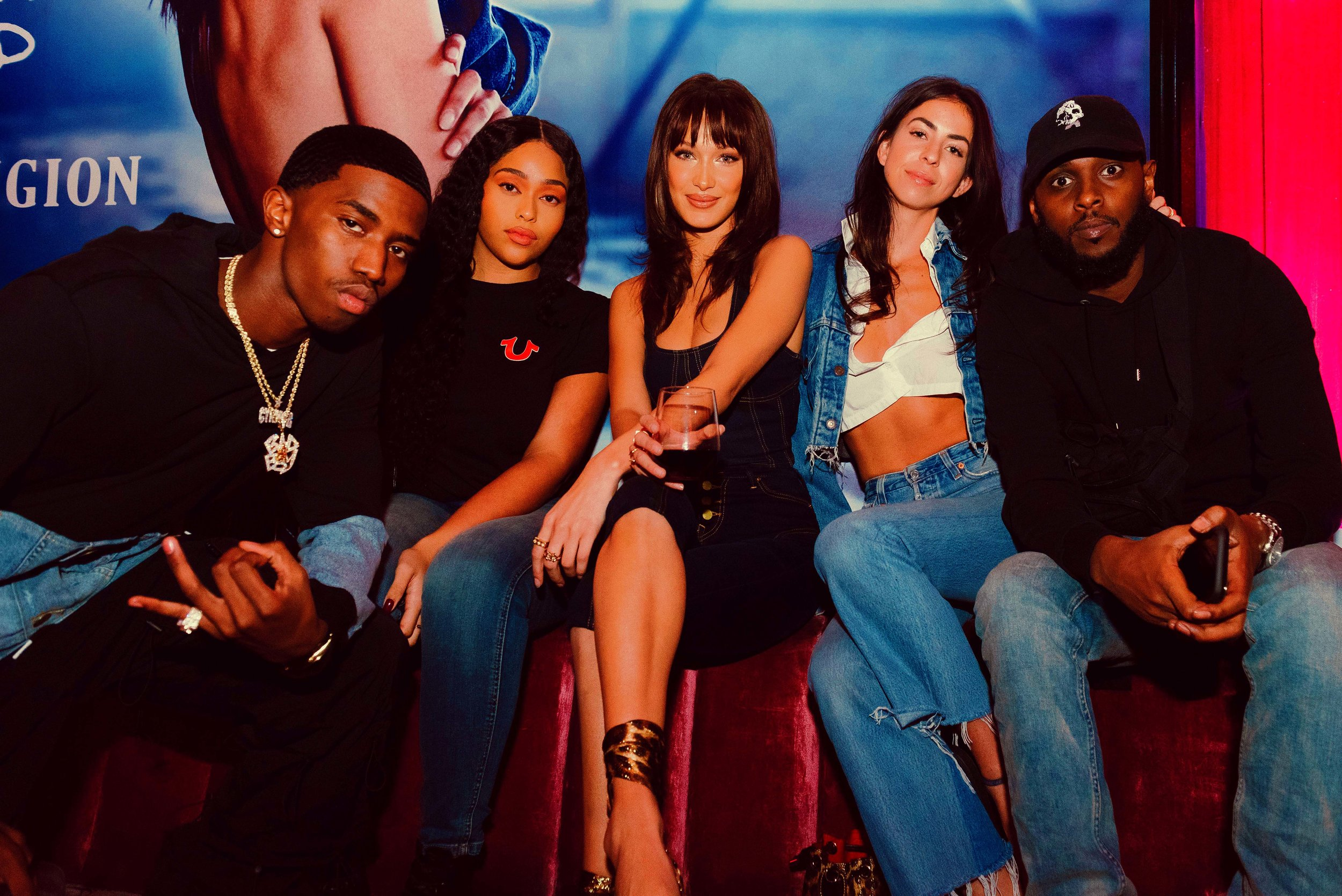 Bella Hadid Campaign Event for True Religion