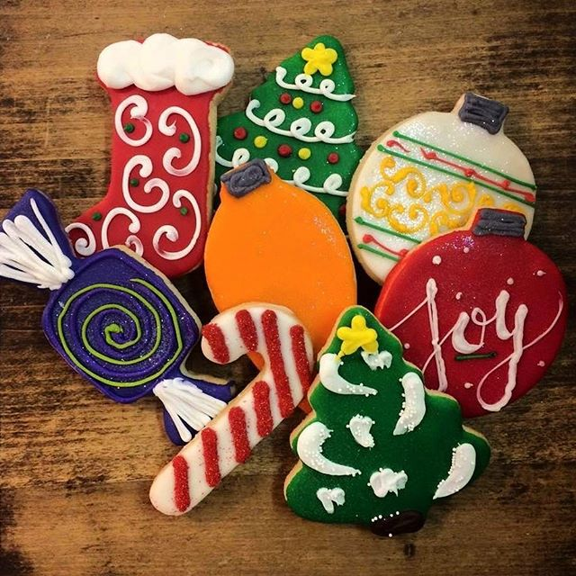 We changed to a new and improved cutout cookie formula a few months back and our cookies have never been better! Stop in to get some Christmas cheer!