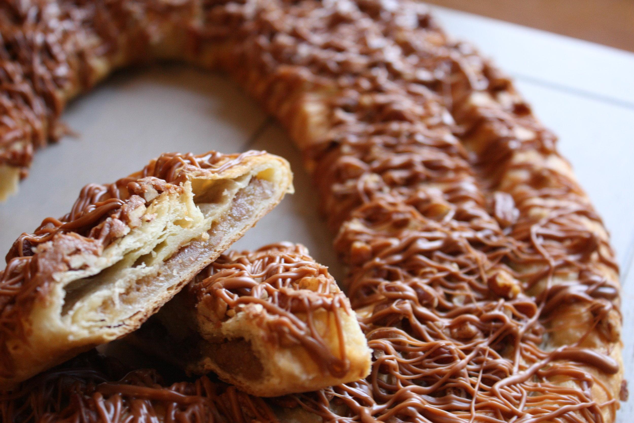 Caramel Pecan Kringle