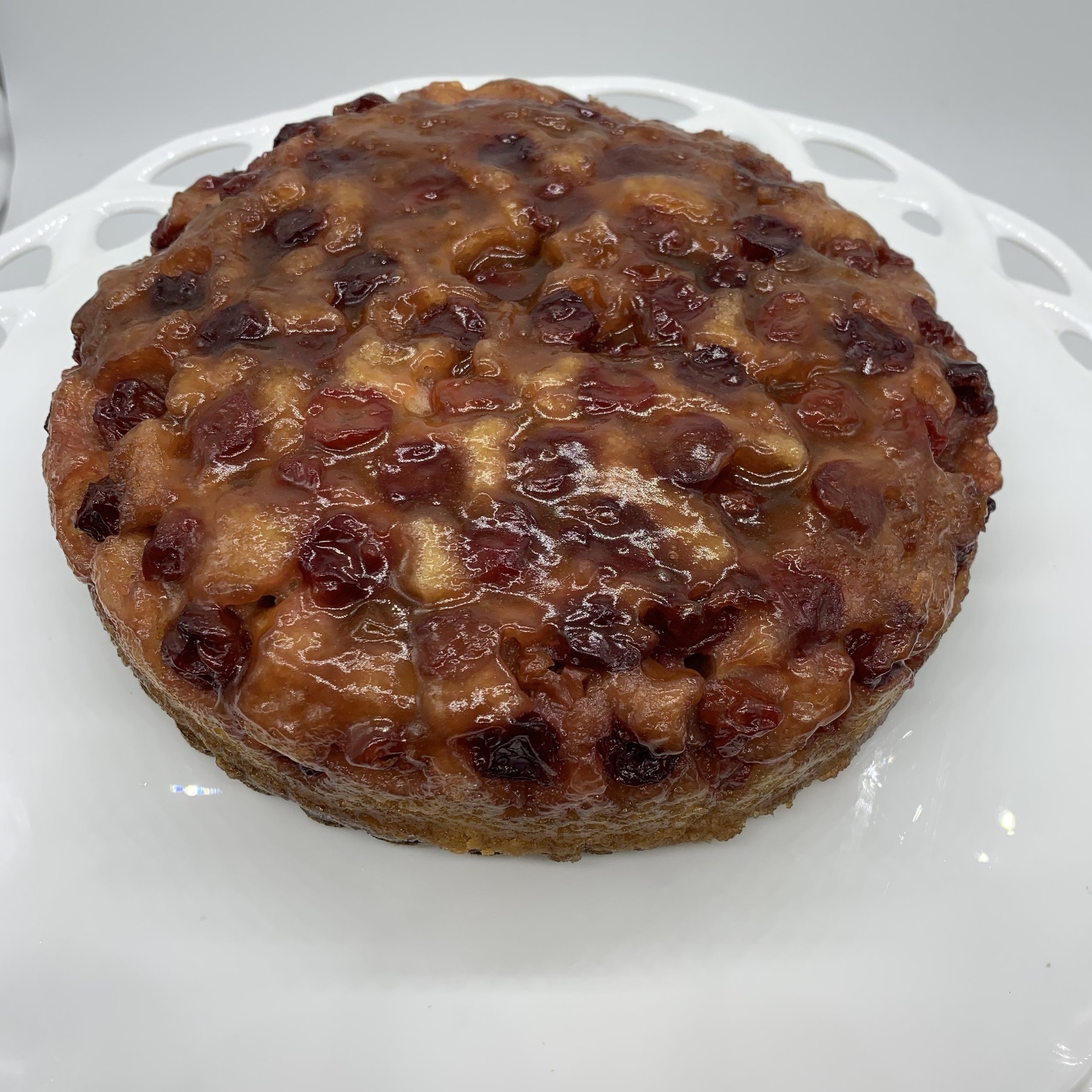 Upside down cake - We offer rotating seasonal flavors throughout the year