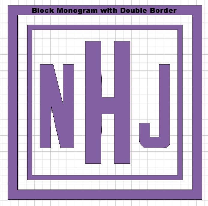 10 x 10 Block monogram with double border.JPG