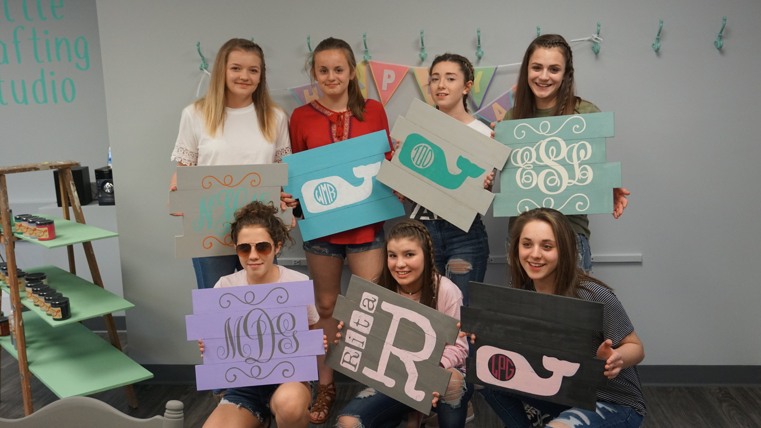 We do teen and preteen birthday parties! -
