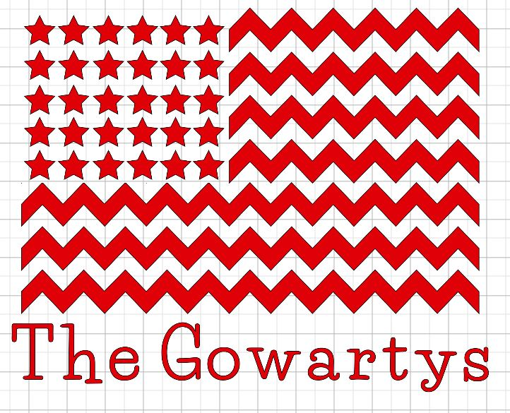 Square Pillow Cover -zigzag flag.JPG