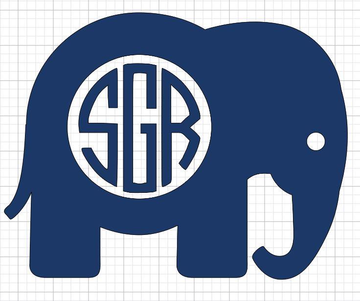 Elephant Initials