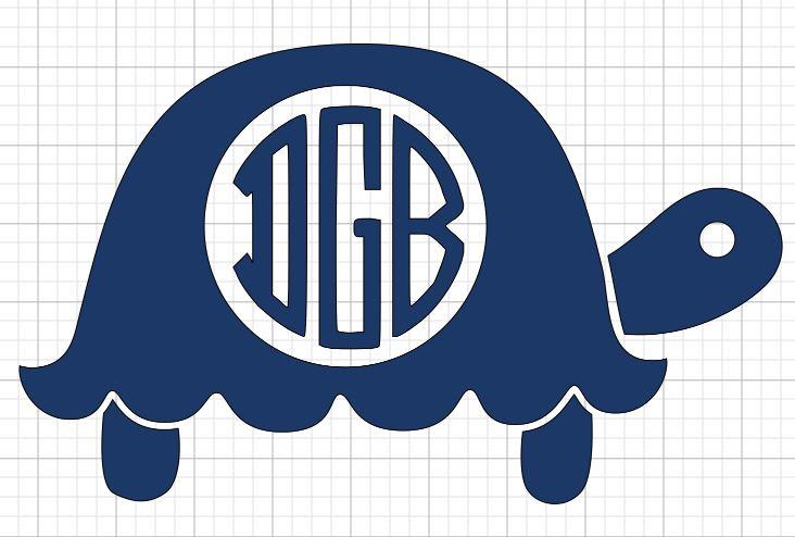 Turtle Initials