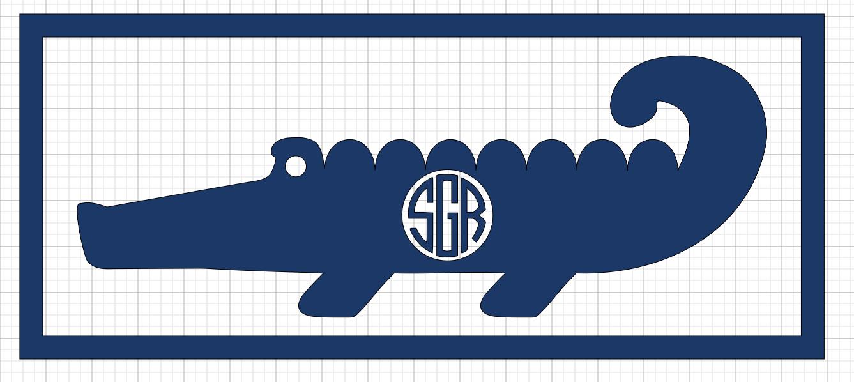 Alligator Initials