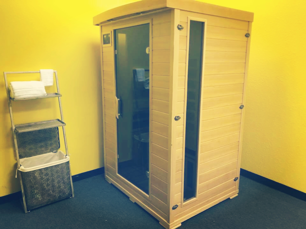 Change your idea of muscle recovery - Suspension House Fitness offers Red Light Sauna therapy for studio members only.