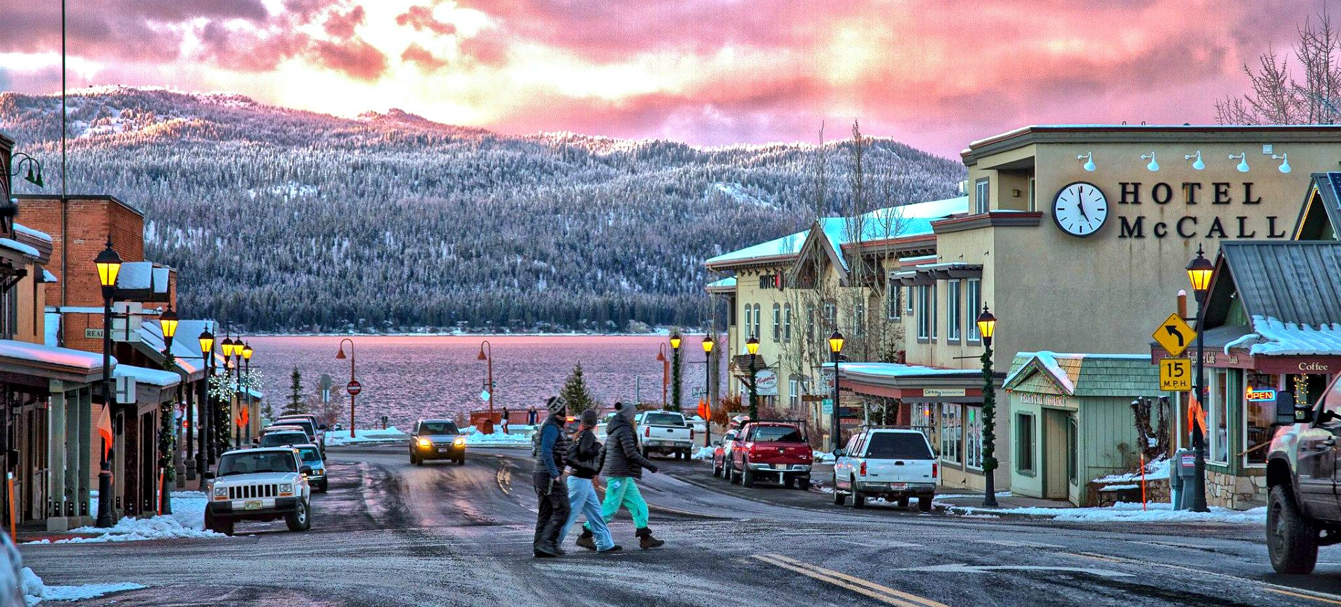 Downtown McCall