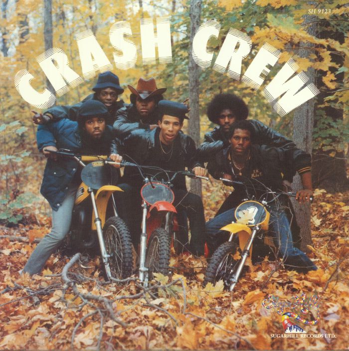 The cover to their self tilted 1984 'Crash Crew' album