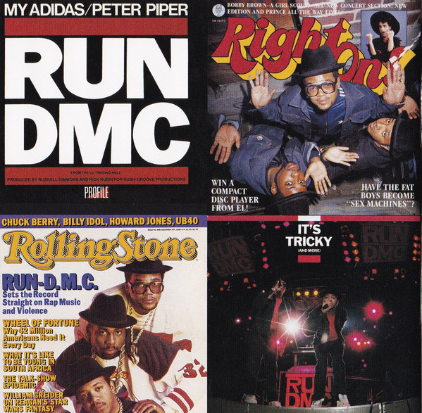 Various magazine covers as well the covers to two of their singles