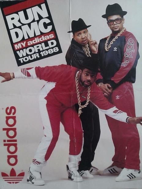 RUN-DMC My Adidas World Tour 1988