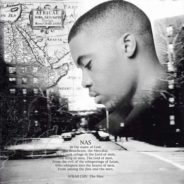 Artwork from Nas' I Am CD booklet