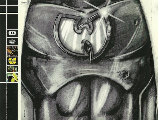 Artwork from Ghostface Killah's 1996 solo album Ironman