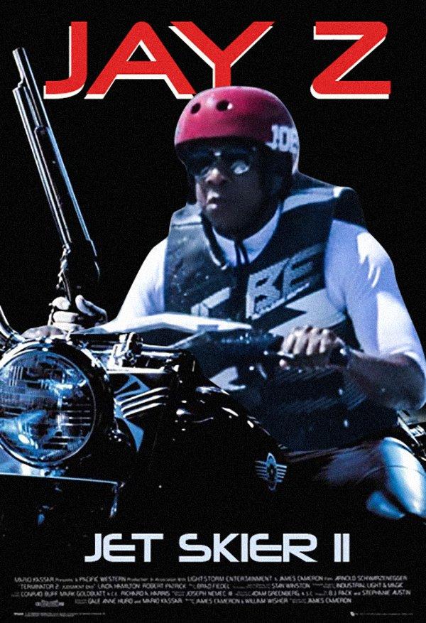 Jay-Z plays badass motorcyclist in 80s throwback movie Jet Skier II