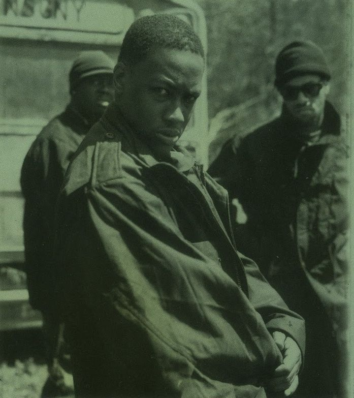 Keith Murray (in front), Erick Sermon (left) and Redman (right)