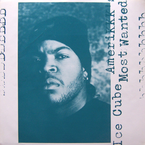Great photo of Cube from  AmeriKKKa's Most Wanted  CD inlay