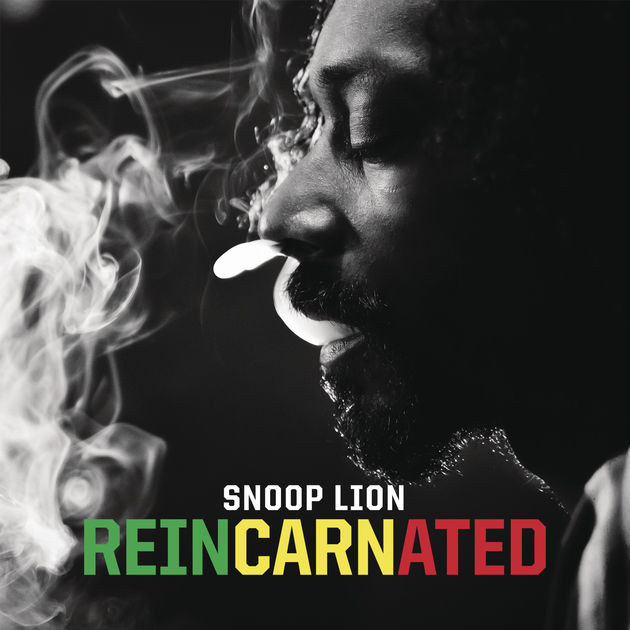 Album cover for Snoop Lion's  Reincarnated  (2012)