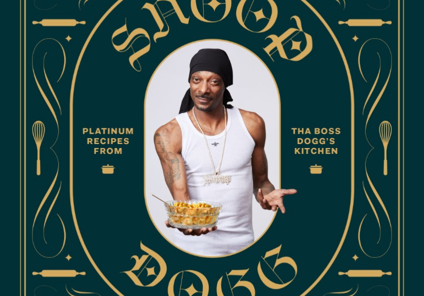 During a break from music, Uncle Snoop Dogg published a cooking book titled  From Crook to Cook: Platinum Recipes from Tha Boss Dogg's Kitchen
