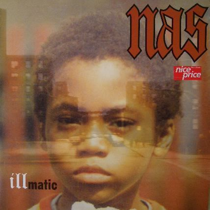 The iconic cover for Nas'  Illmatic  album (1994)