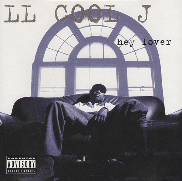 """This is the cover for """"Hey Lover"""" by LL Cool J, another platinum single from  Mr. Smith"""