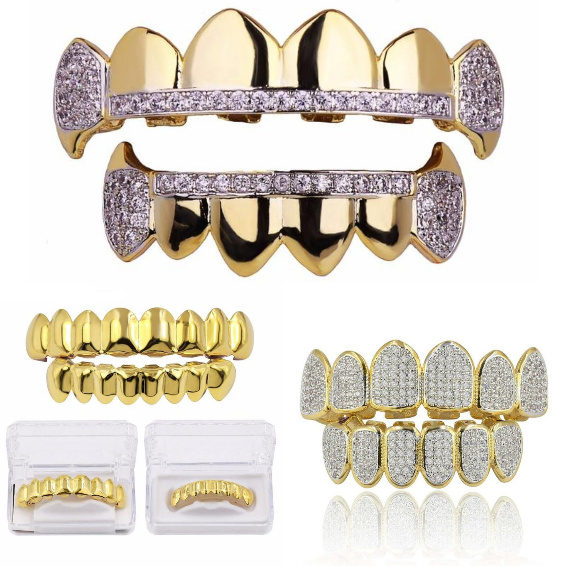 Retrohiphopshop.com  has great prices on Grillz and other Hip-Hop Jewelry