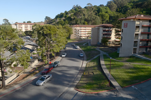 """This part of Marin City is known as """"The Jungle"""" and is notorious for its high crime, poverty, and drug abuse."""