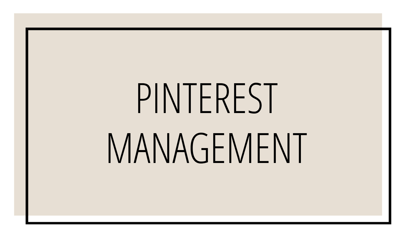 Pinterest Management Andrea K Chapman