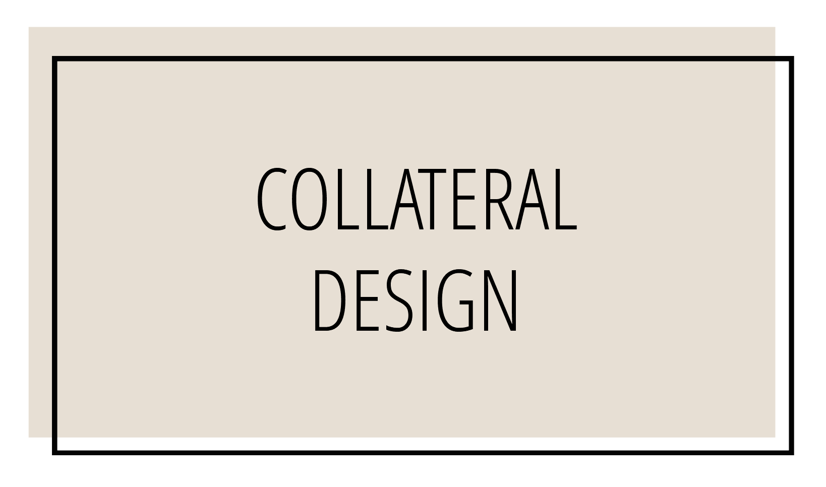 Collateral Design Andrea K Chapman