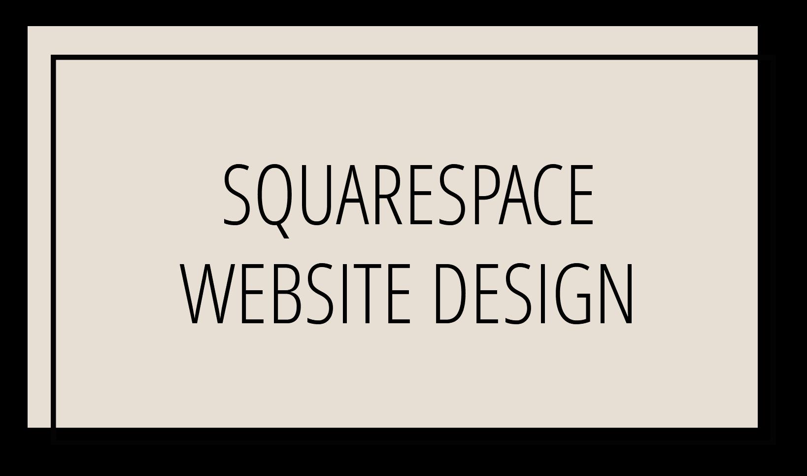 Squarespace Website Design Andrea K Chapman