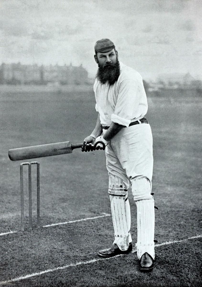 Old-timey cricket.