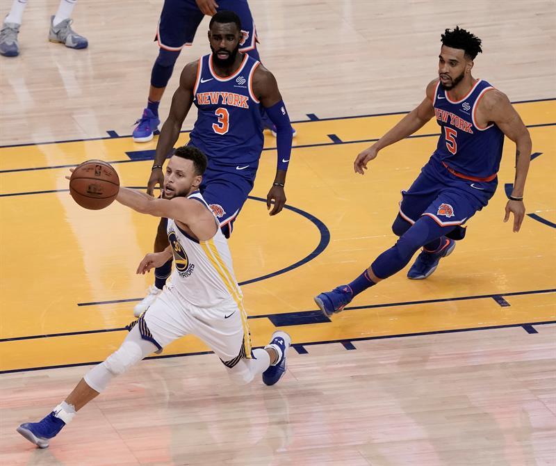 123-112. Curry surge imparable en el tercer periodo y ganan Warriors .jpg