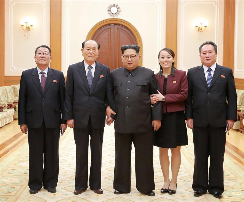 Kim Jong-un aboga por continuar con la reconciliación entre las dos Coreas .jpg