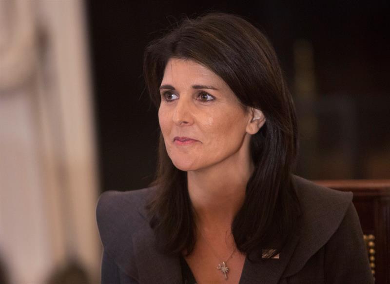 La embajadora de EE.UU. en la ONU llega a Honduras donde será recibida por Hernández .jpg