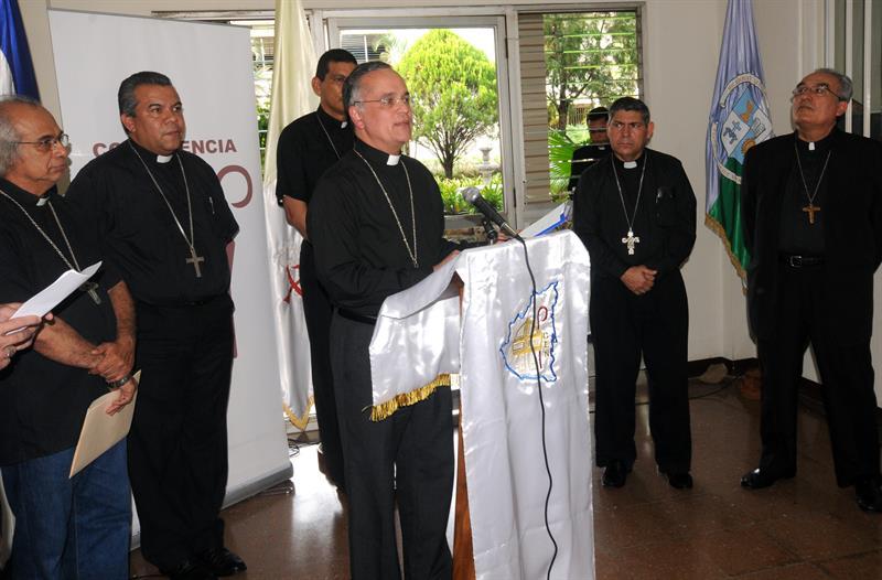 Diálogo no será manto de impunidad para criminales, dice obispo de Nicaragua .jpg