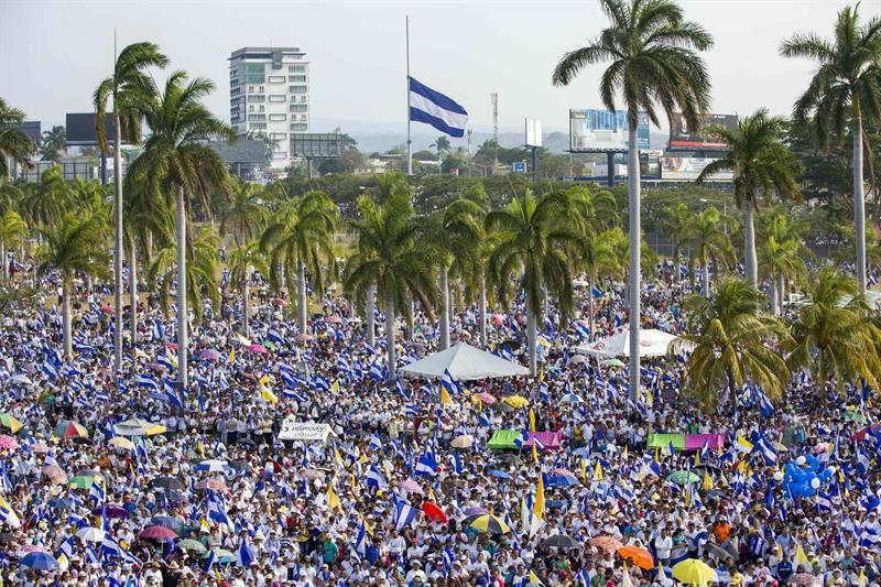 Miles claman justicia por los muertos y ante el eventual diálogo en Nicaragua .jpg
