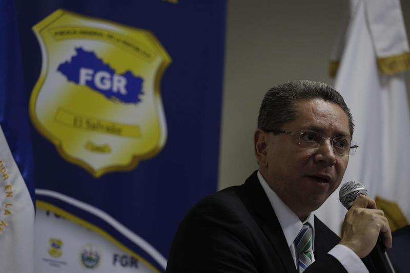 El fiscal general de El Salvador, Douglas Meléndez