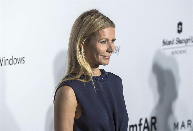 La actriz estadounidense Gwyneth Paltrow