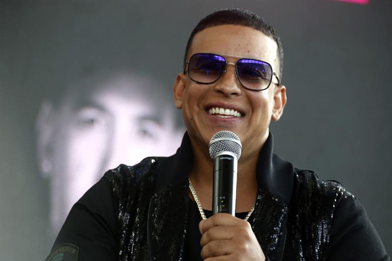 Daddy Yankee, reguetonero puertorriqueño.