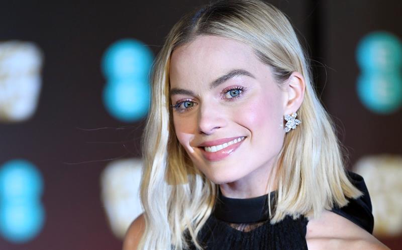 imagen de archivo de la actriz australiana Margot Robbie.