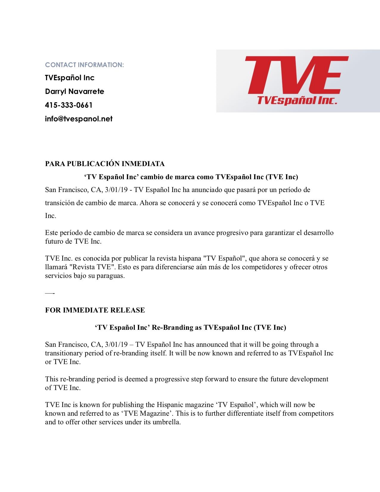 TVE Re-Brand Press Release.jpg