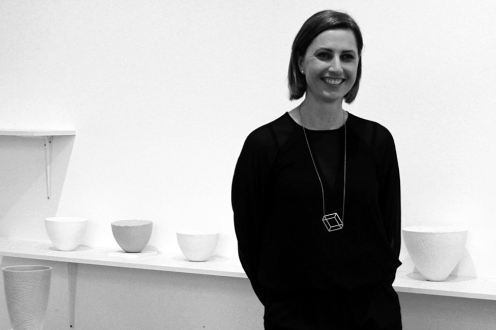 Kate McIntyre - Kate McIntyre has been working predominantly in ceramics since completing a Bachelor of Design in 2009. Kate's current work is inspired by patterns and structures found in nature. Her interest in the natural world stems not only from the beautiful forms and intricate patterns, but also from the efficient and economical use of material. Kate is interested in the intersection of technology and craft. By combining both traditional handcraft techniques along with computer aided design, she is able to retain the importance of material knowledge and the process of making by hand, while exploring how the use of technology can impact on the creative process and outcomes.
