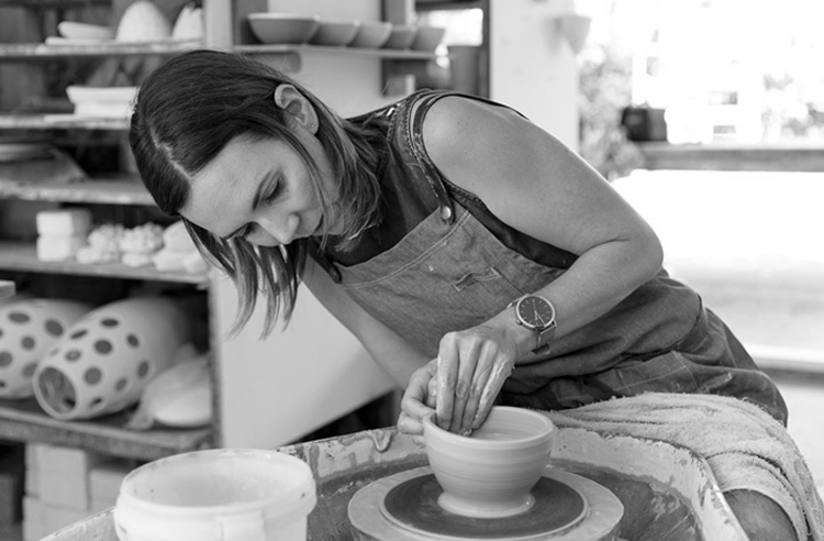 Renee Boyd - Renee works from her studio in Auckland, where she realised that clay appealed not only to her fascination with materials and process, but also to her sense of independence as a designer. Renee's work is clean, refined, delicate and minimal; she aims to tread the fine line between simple, timeless designs, and unique pieces that have character and presence.