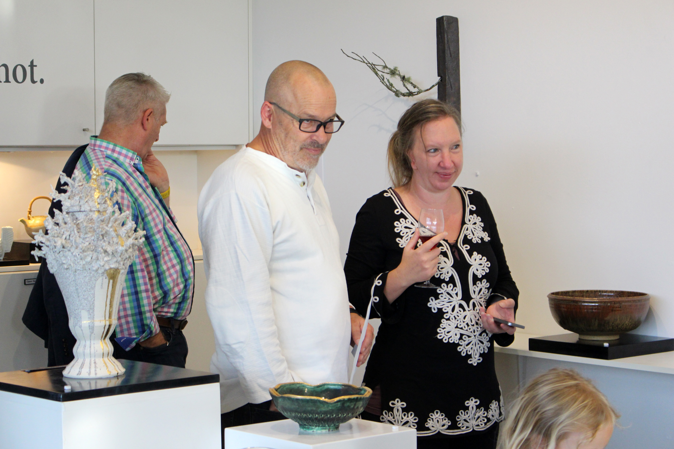 Ceramic artists Michael and Amy Michaels.