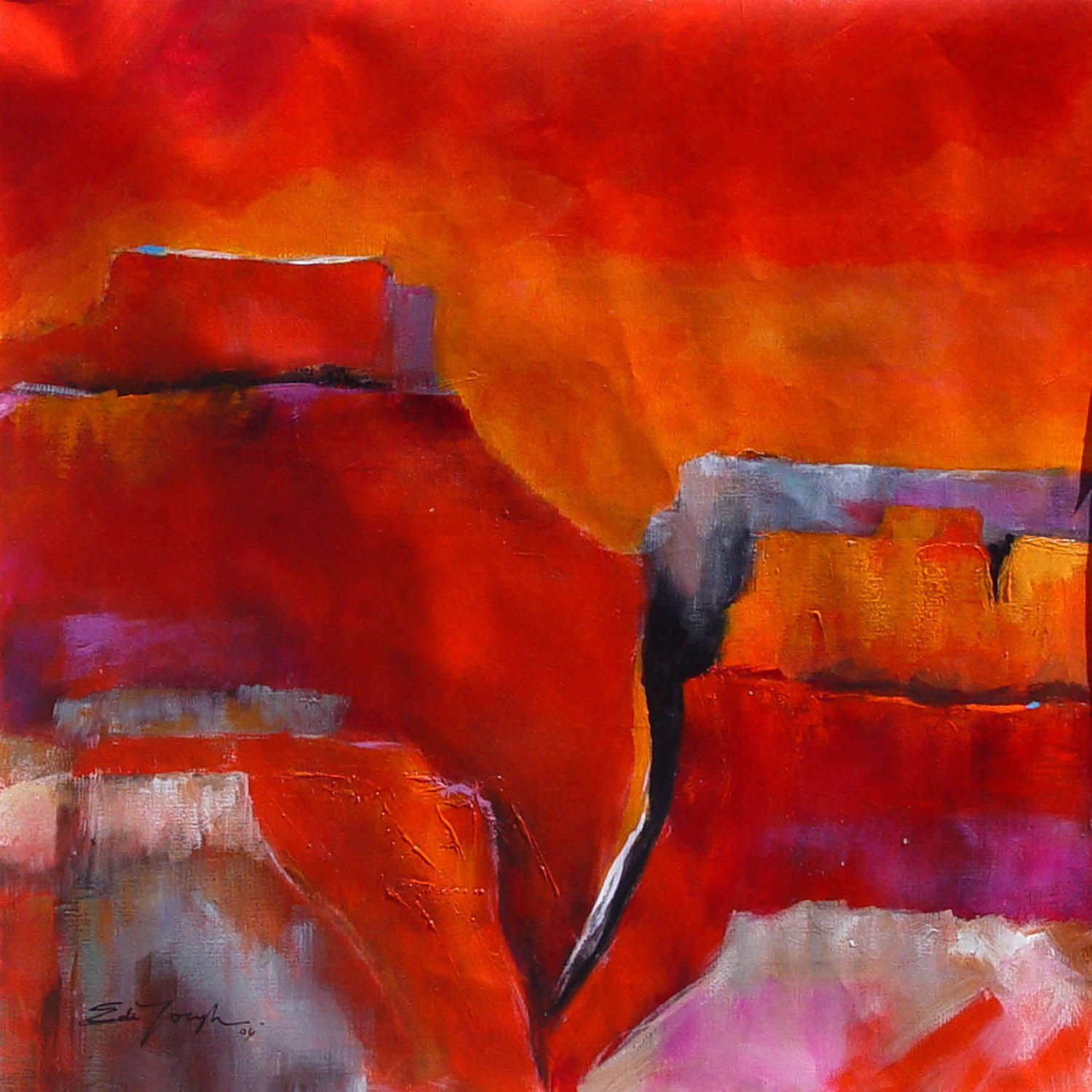 ellen dejongh - Vibrant colors, strong textures and surprising details couple with a strength of expression to create a body of work that represents a strong and confident presence in the world of fine art.