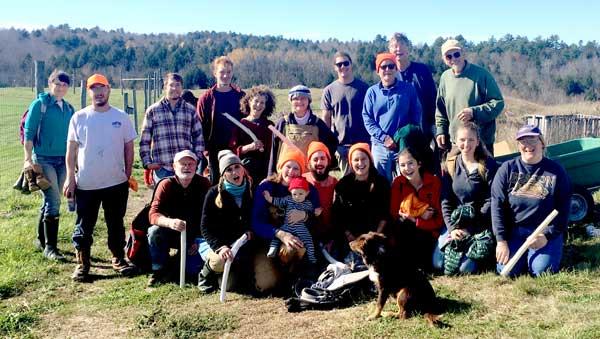 MEHO Crew and volunteers. Photo by Jordan McHugh