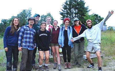 MEHO Crew with Wolfe Neck's Farm Teen Ag group